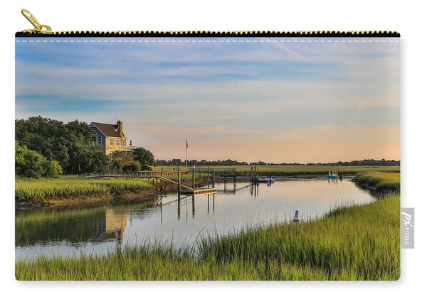 Morning On The Creek - Wild Dunes Carry-all Pouch