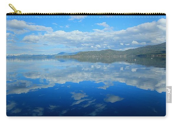 Carry-all Pouch featuring the photograph Morning Reflections by Sean Sarsfield