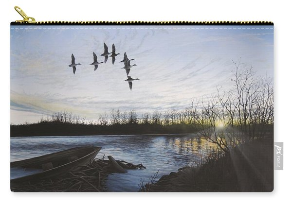 Morning Retreat - Pintails Carry-all Pouch