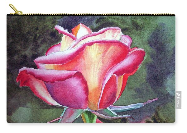 Morning Rose Carry-all Pouch