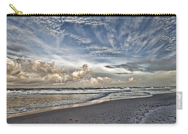 Morning Sky At The Beach Carry-all Pouch