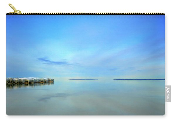 Morning Sky Reflections Carry-all Pouch