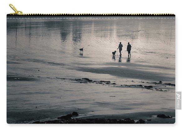 Morning Walk, Gooch's Beach, Kennebunk, Maine Carry-all Pouch