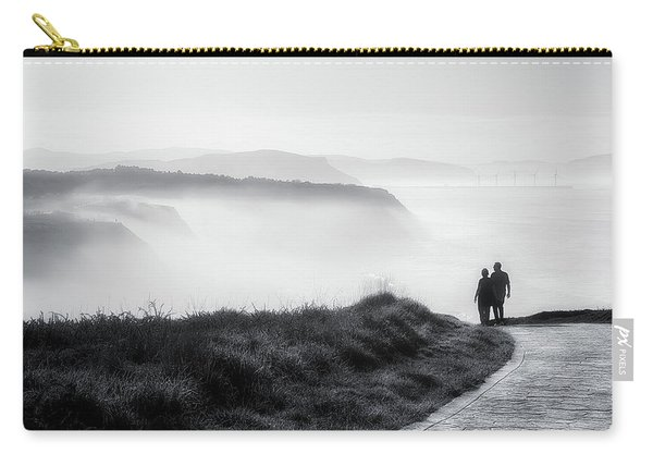 Morning Walk With Sea Mist Carry-all Pouch