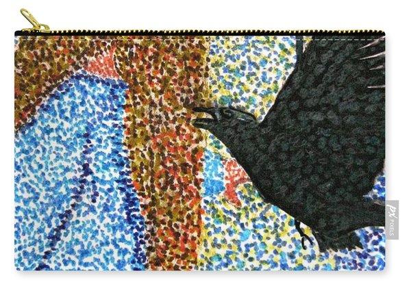 Morrigan Raven Goddess Carry-all Pouch