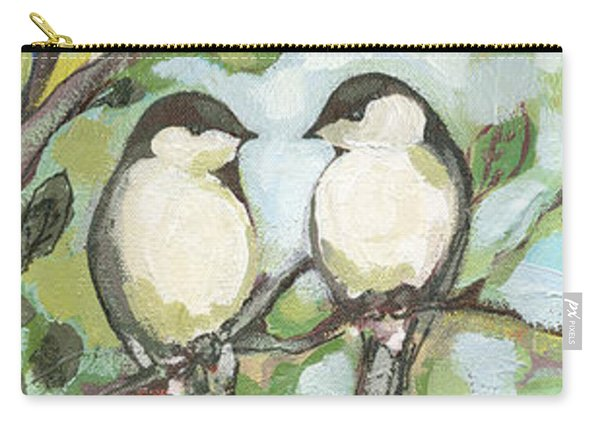 Mo's Chickadees Carry-all Pouch
