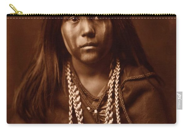 Mosa, Mohave Girl, By Edward S. Curtis, 1903 Carry-all Pouch