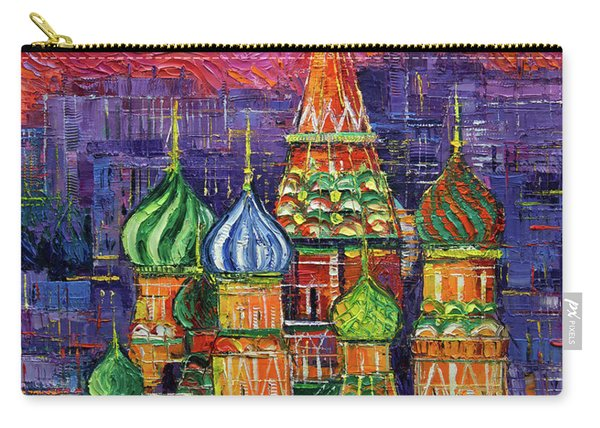 Moscow Saint Basil's Cathedral Carry-all Pouch