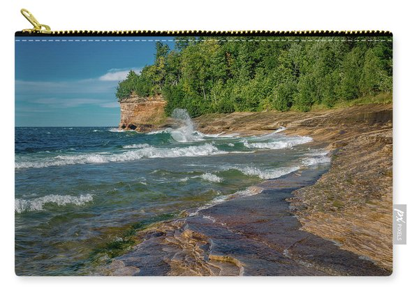 Mosquito Harbor Waves  Carry-all Pouch