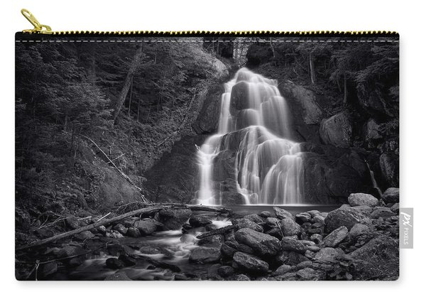 Moss Glen Falls - Monochrome Carry-all Pouch