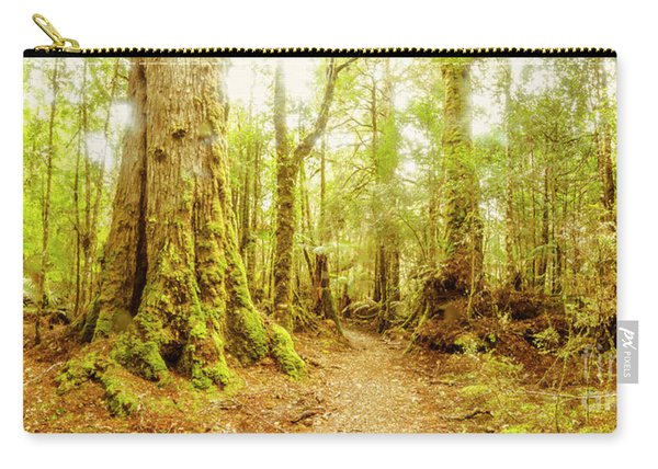 Mossy Forest Trails Carry-all Pouch