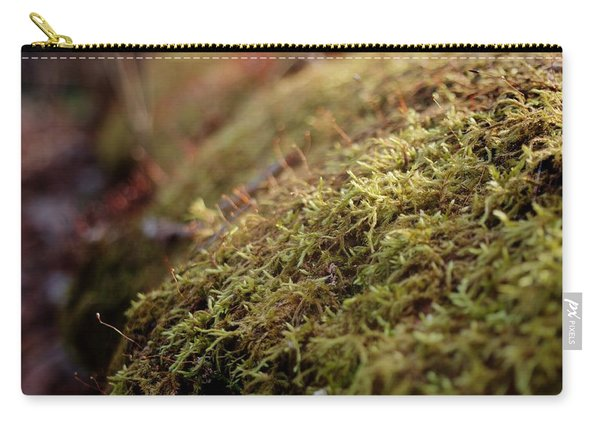 Carry-all Pouch featuring the photograph Mossy by Michael Colgate