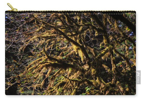 Mossy Trees Carry-all Pouch
