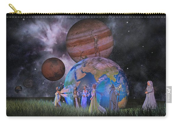 Mother Earth Series Plate2 Carry-all Pouch