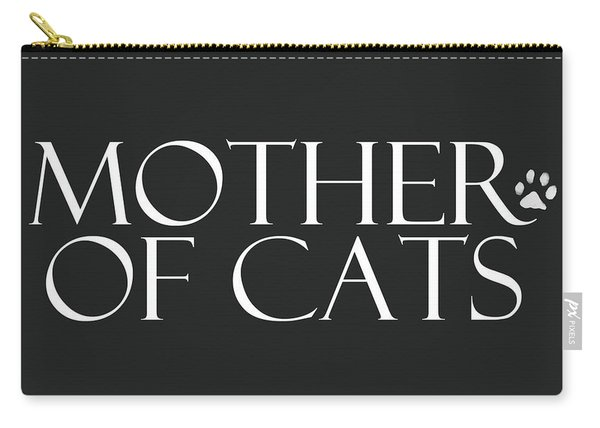 Mother Of Cats- By Linda Woods Carry-all Pouch