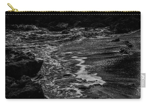Motion In Black And White Carry-all Pouch