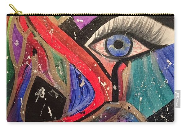 Motley Eye Carry-all Pouch