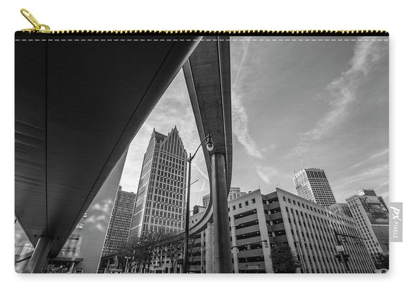 Motown And The People Mover Carry-all Pouch