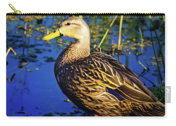 Mottled Duck Carry-all Pouch