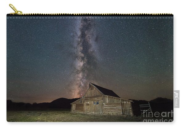 Moulton Ranch Cabin Milky Way On Mormon Row Carry-all Pouch