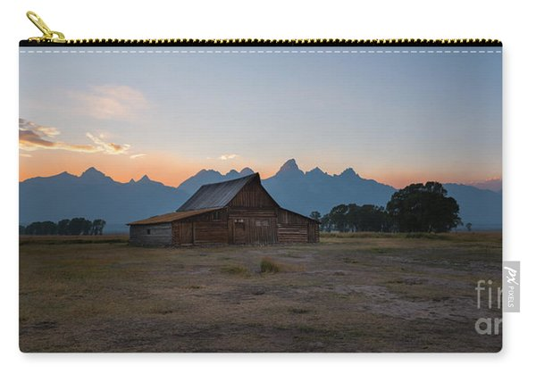 Moulton Ranch Sunset On Mormon Row Carry-all Pouch
