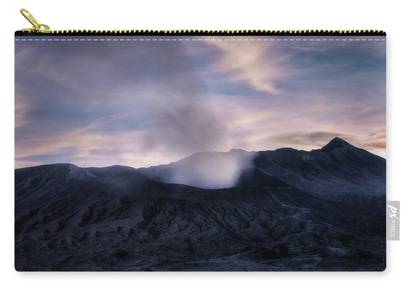 Mount Bromo After The Sun - Java Carry-all Pouch