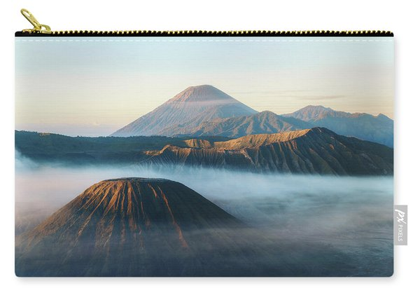 Mount Bromo In The Morning - Java Carry-all Pouch