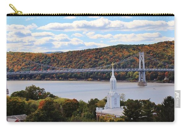 Mount Carmel And The Mid Hudson Bridge Carry-all Pouch