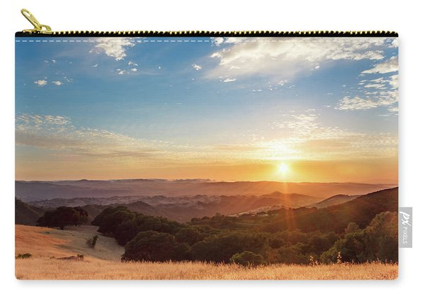 Mount Diablo Sunset Carry-all Pouch