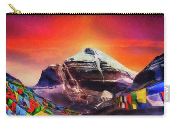 Mount Kailash - The Pillar Of The World Carry-all Pouch
