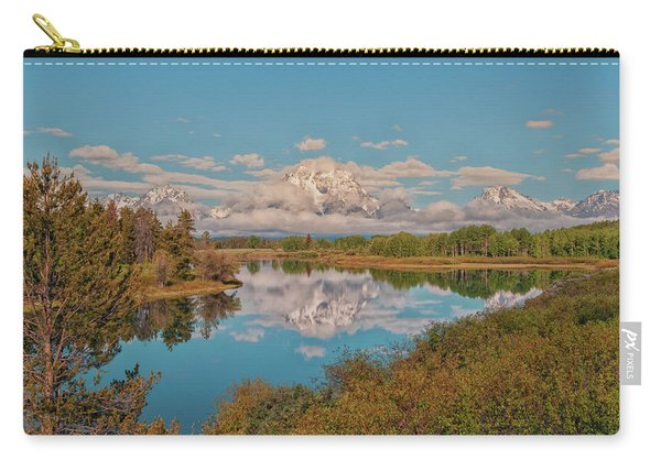 Mount Moran On Oxbow Bend Carry-all Pouch