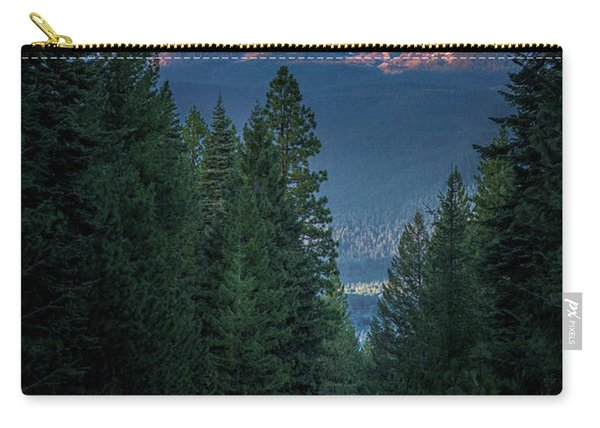 Mount Shasta - A Roadside View Carry-all Pouch