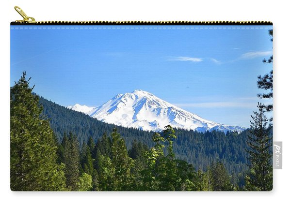 Mount Shasta Carry-all Pouch