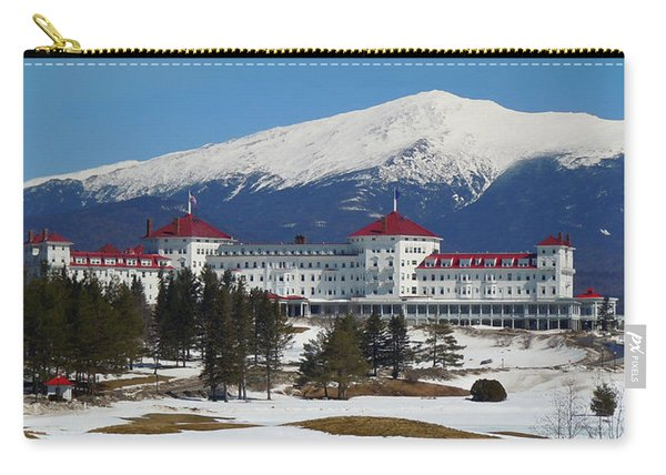 Mount Washington Hotel In Early Spring Carry-all Pouch