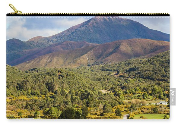 Mount Zeehan Valley Town. West Tasmania Australia Carry-all Pouch