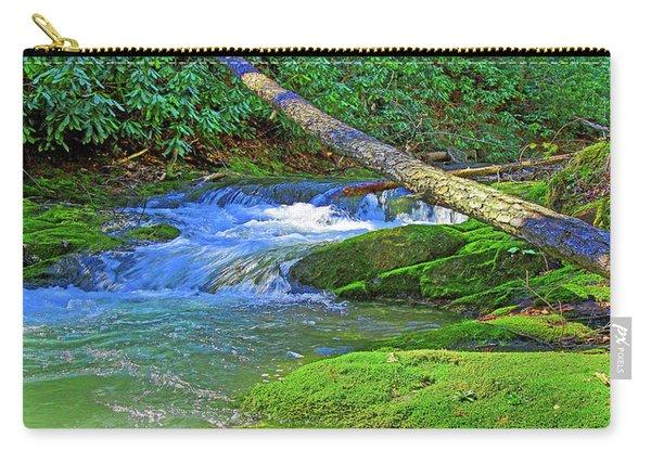 Mountain Appalachian Stream Carry-all Pouch