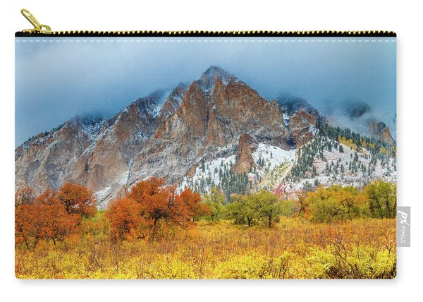 Mountain Autumn Color Carry-all Pouch