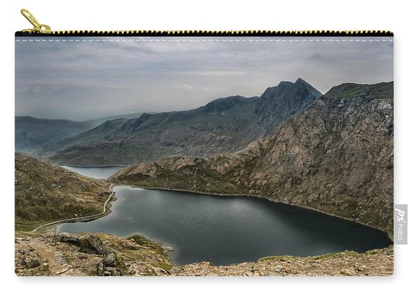 Carry-all Pouch featuring the photograph Mountain Hike by Nick Bywater
