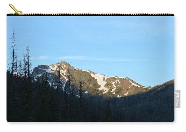 Carry-all Pouch featuring the photograph Mountain In Rocky Mountian Np Co by Margarethe Binkley