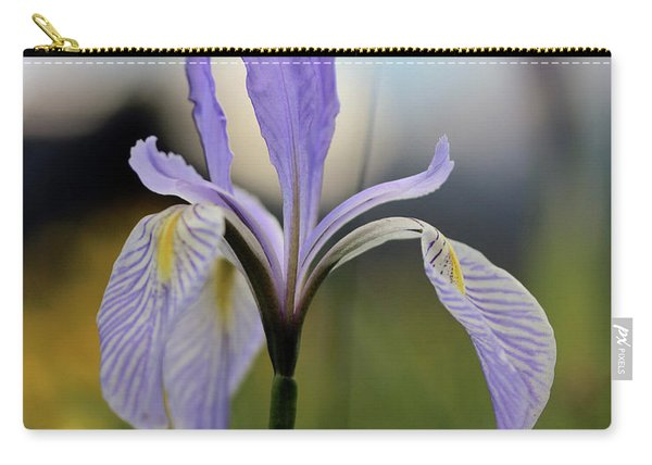 Mountain Iris With Bud Carry-all Pouch