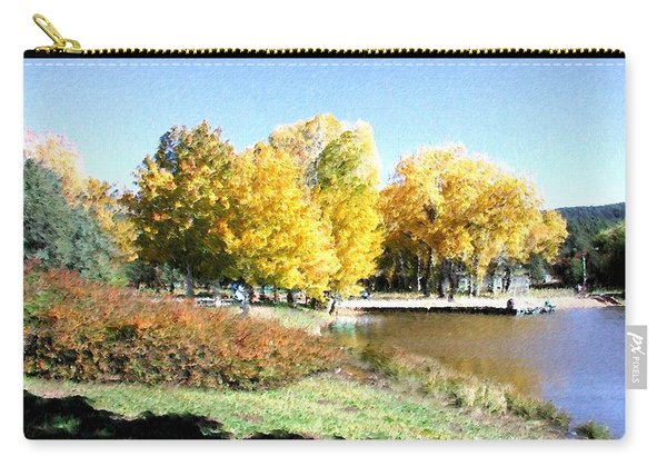 Mountain Lake Autumn Carry-all Pouch