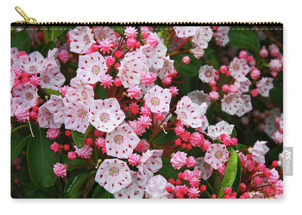Mountain Laurels Carry-all Pouch
