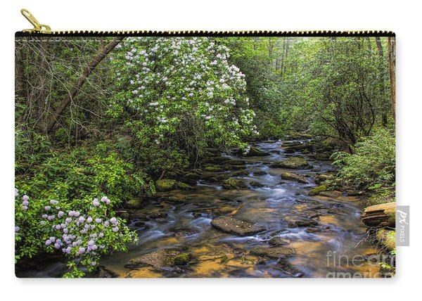 Mountain Laurels Light Up Panther Creek Carry-all Pouch