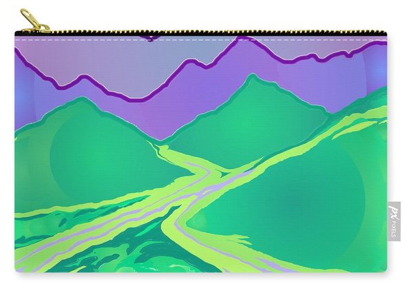 Mountain Murmurs Carry-all Pouch