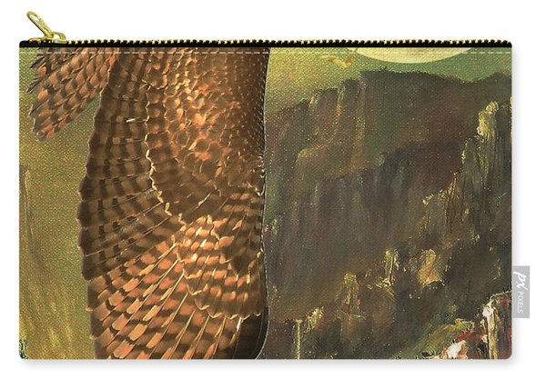 Mountain Of The Hawks Carry-all Pouch
