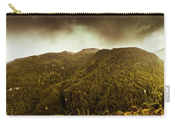 Mountain Of Trees Carry-all Pouch