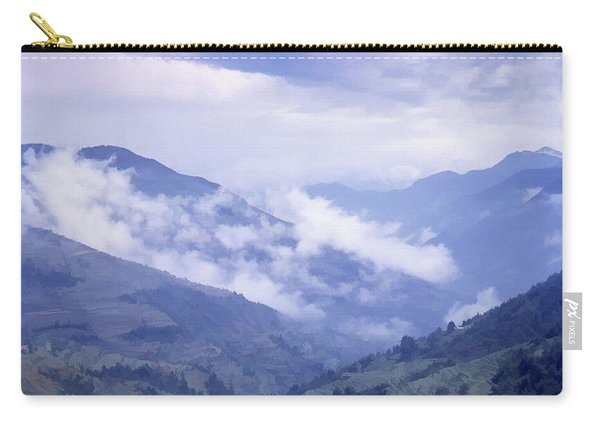 Mountain Pass, France Carry-all Pouch