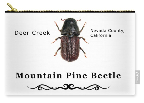 Mountain Pine Beetle Color Carry-all Pouch