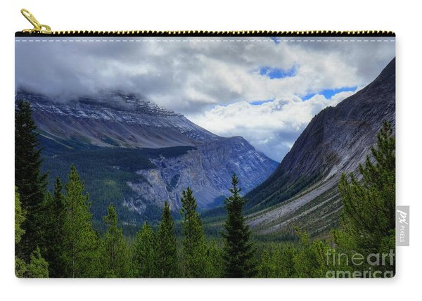 Mountain Ranges South Of Jasper Carry-all Pouch