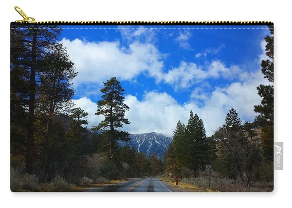 Mountain Road On A Spring Day Carry-all Pouch